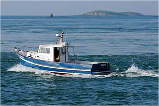 Un chalutier de pêche égyptien a été arraisonné