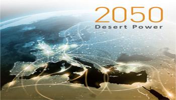 D'après une étude stratégique «Desert Power 2050» élaborée par Initiative Industrielle Desertec