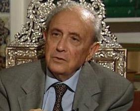 L'homme politique tunisien Ahmed Mestiri
