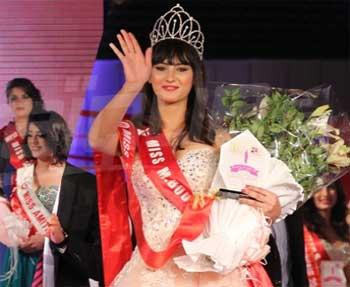 Wahiba Arres a été élue Miss Tunisie 2014