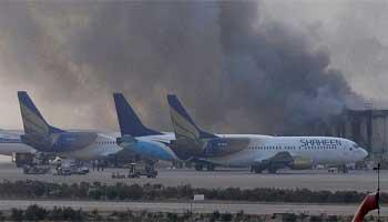 Vingt-huit personnes ont été tuées lundi lors d'un assaut de plus de 12 heures mené par un commando taliban à l'aéroport de Karachi