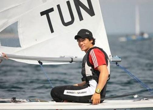 Un Tunisien parvient à relier l'Afrique et l'Europe en Laser Youssef_Akrout