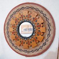 Art Mirror  Wall Art  Modern Global Wall Decor  AfriMod