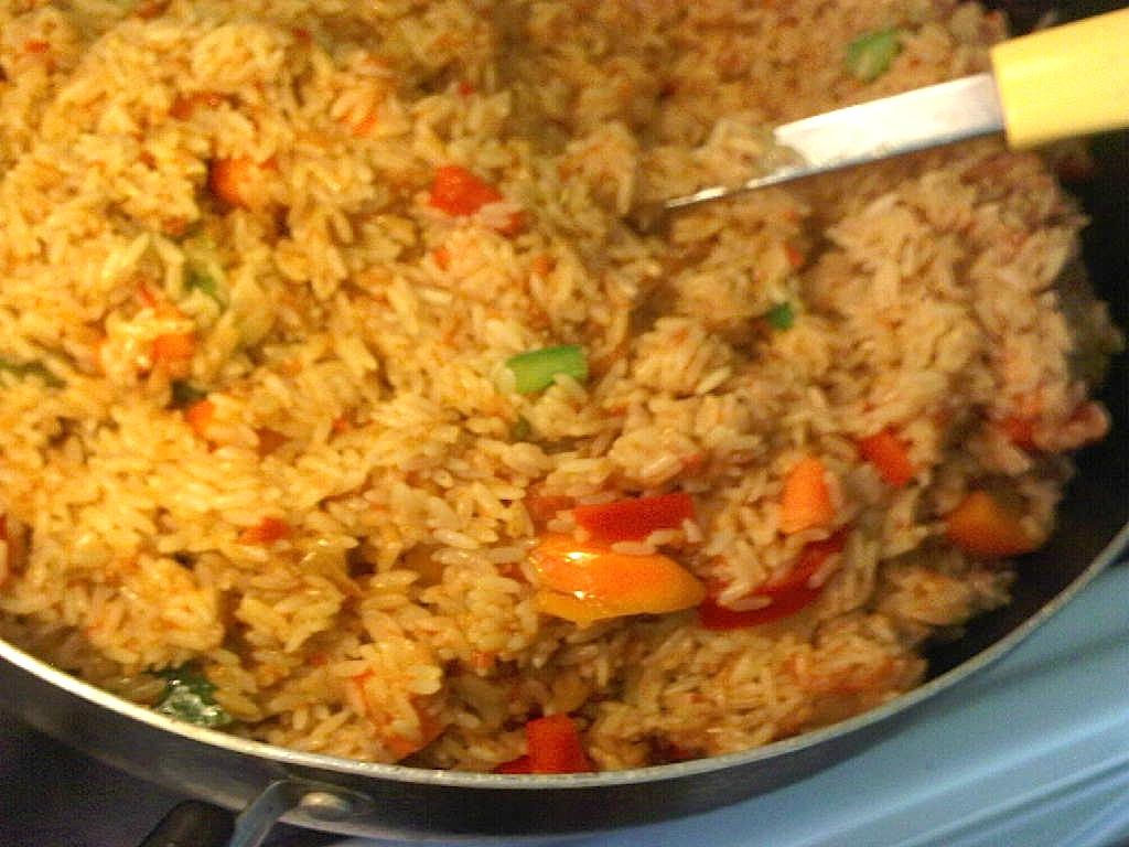 Jollof Rice with a Twist - Afrolems Nigerian Food Blog