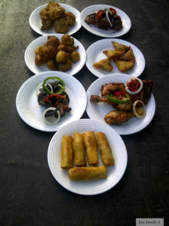 the small chops food lagos