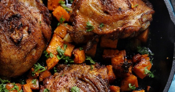 Baby Only Eats Sweet Food Crispy Oven Baked Chicken With Sweet Potatoes