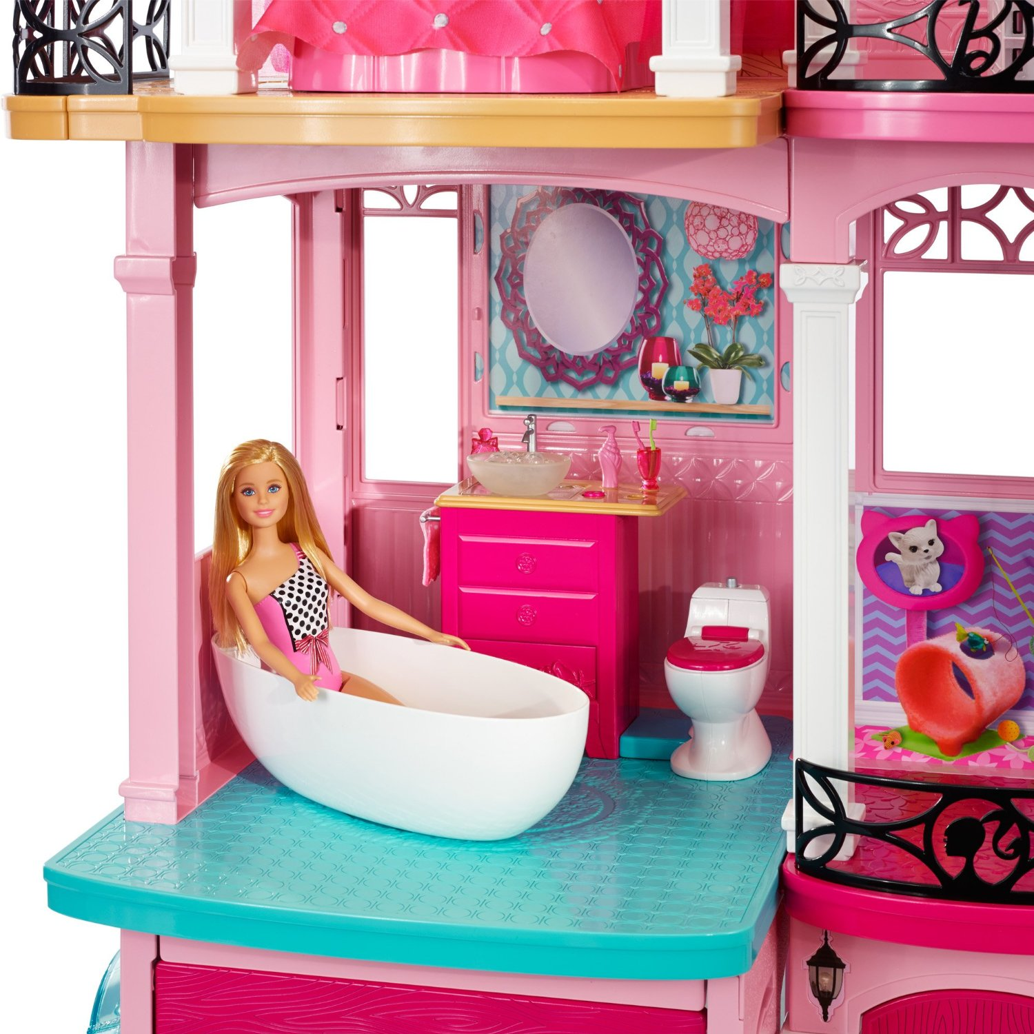 Barbie House Design Amazon Barbie Dreamhouse 164 99