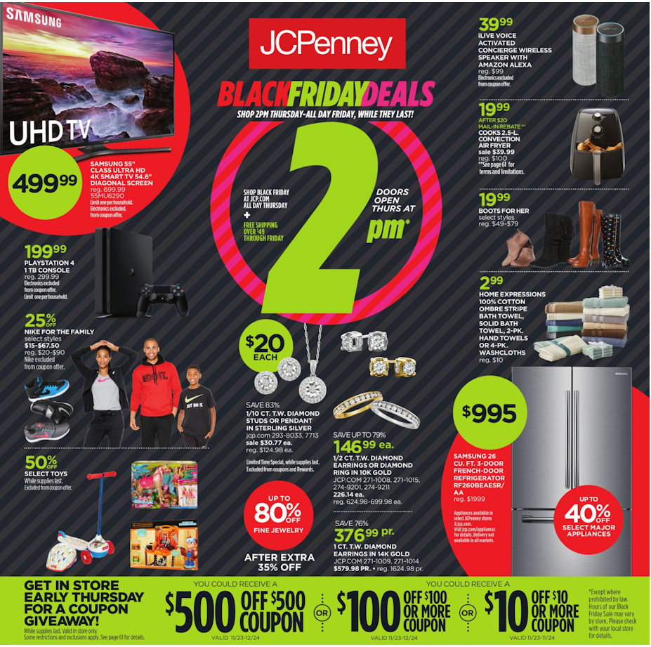 Www Black Friday Black Friday 2018 Jcpenney Full Ad Scan