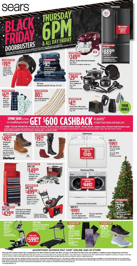 Black Friday 2018 Sears Full Ad Scan Available