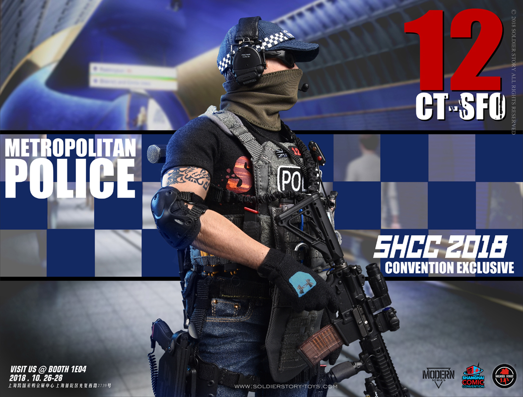 Soldier Story Ss112 Shcc 2018 Convention Exclusive Ct Sfo