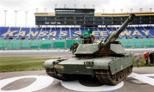 tank NASCAR