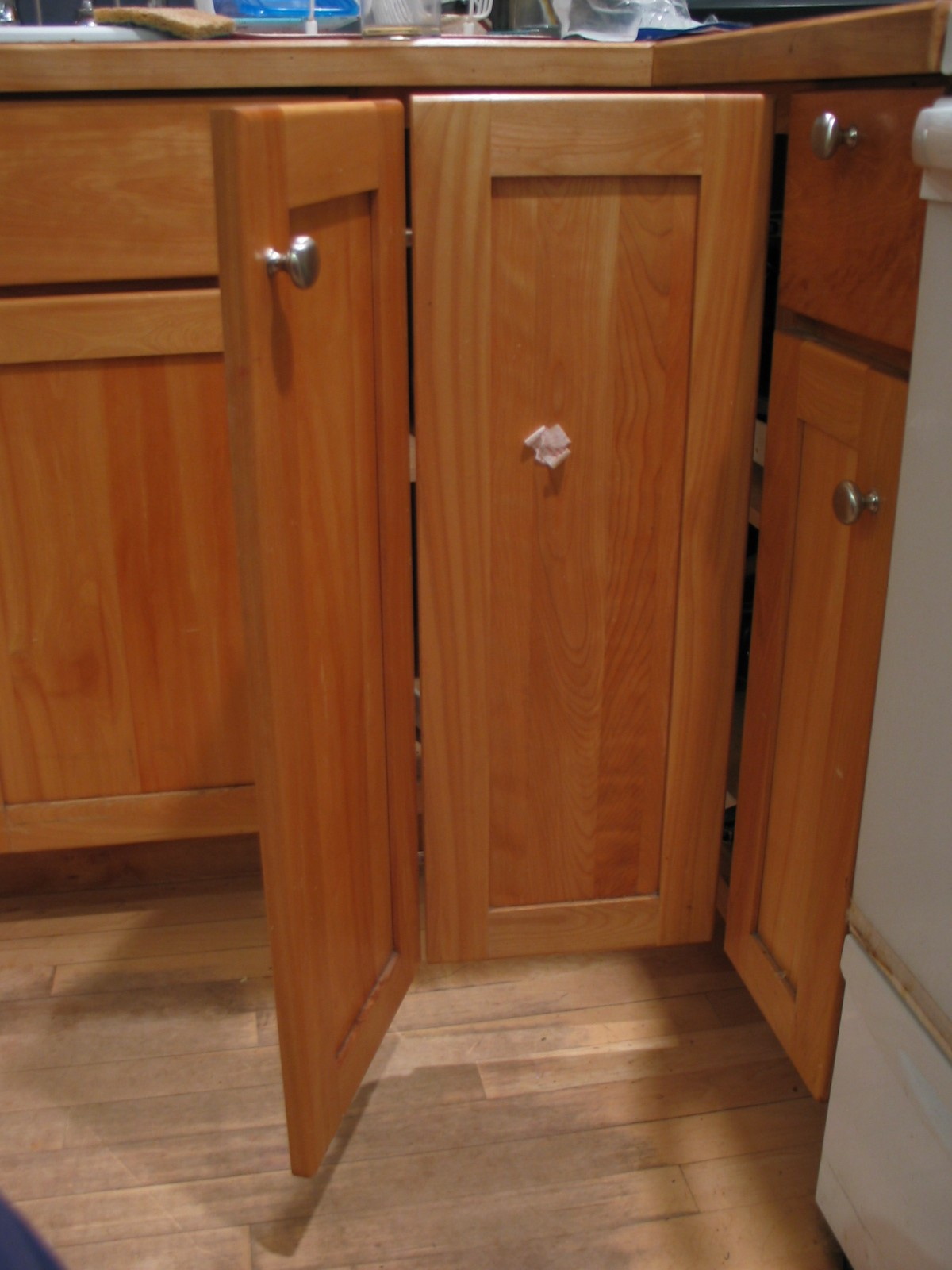 Cupboard Doors Double Hinged Cupboard No Problem After Gadget