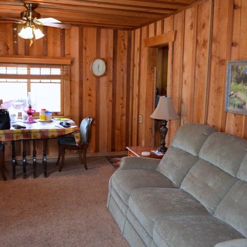 MY LOG CABIN LIVING ROOM RENOVATION - After Orange County - log cabin living rooms