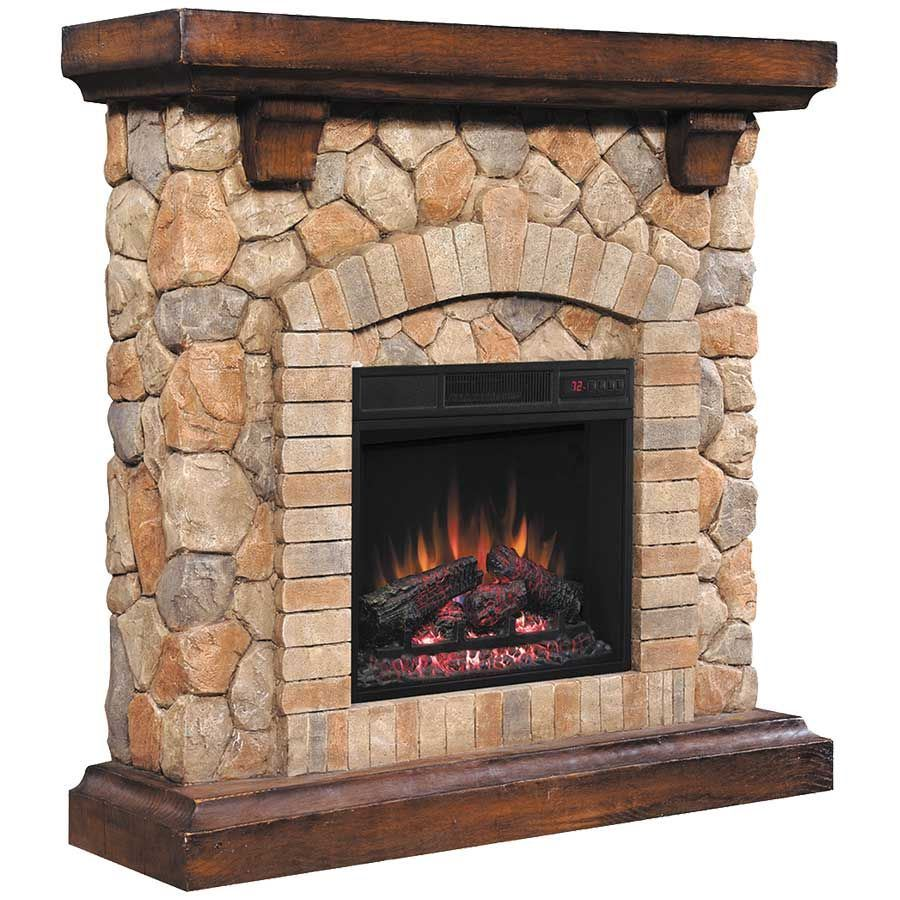 Fireplace Stone Tequesta Stone Fireplace With Insert