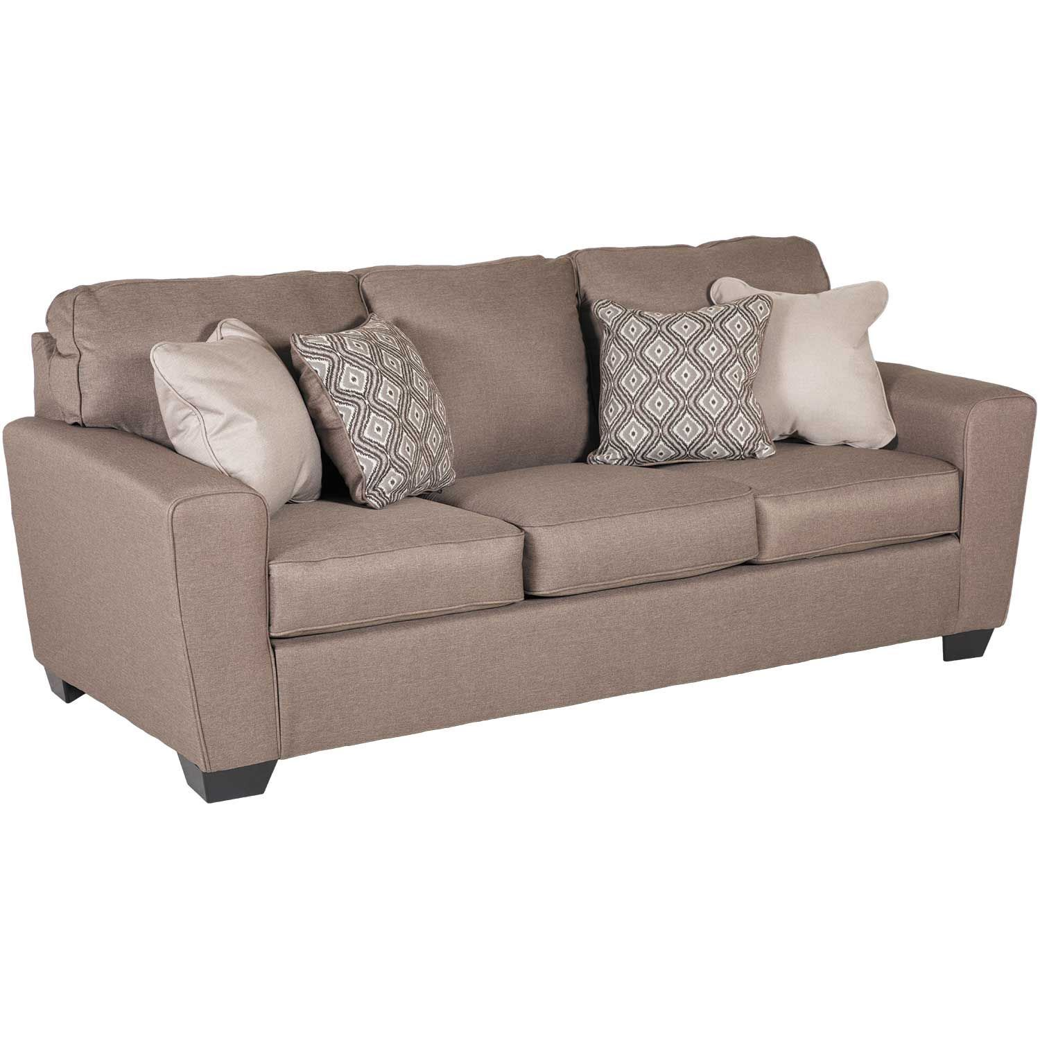 Sofa Queen Calicho Cashmere Queen Sleeper Sofa