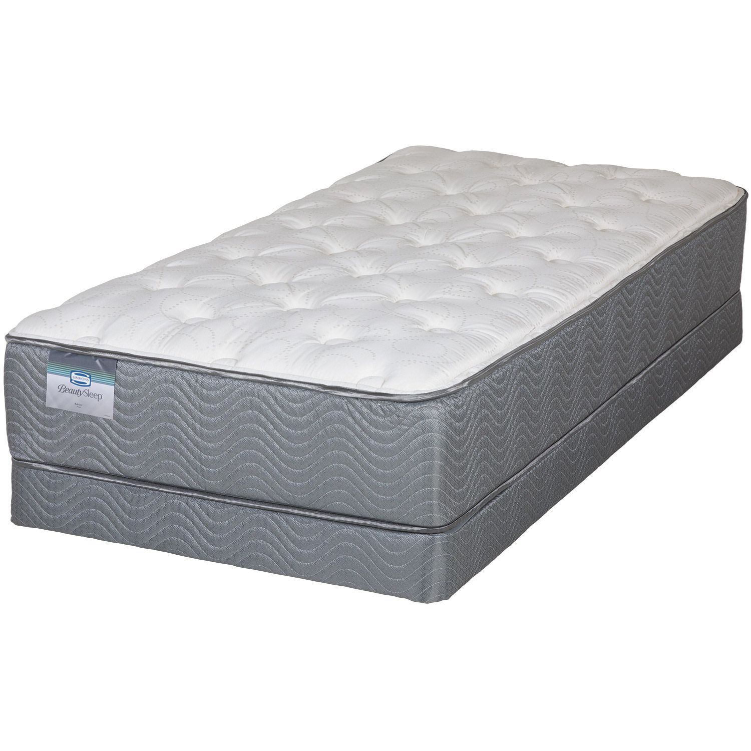 Cheap Twin Mattress And Box Springs Adrian Twin Low Profile Set