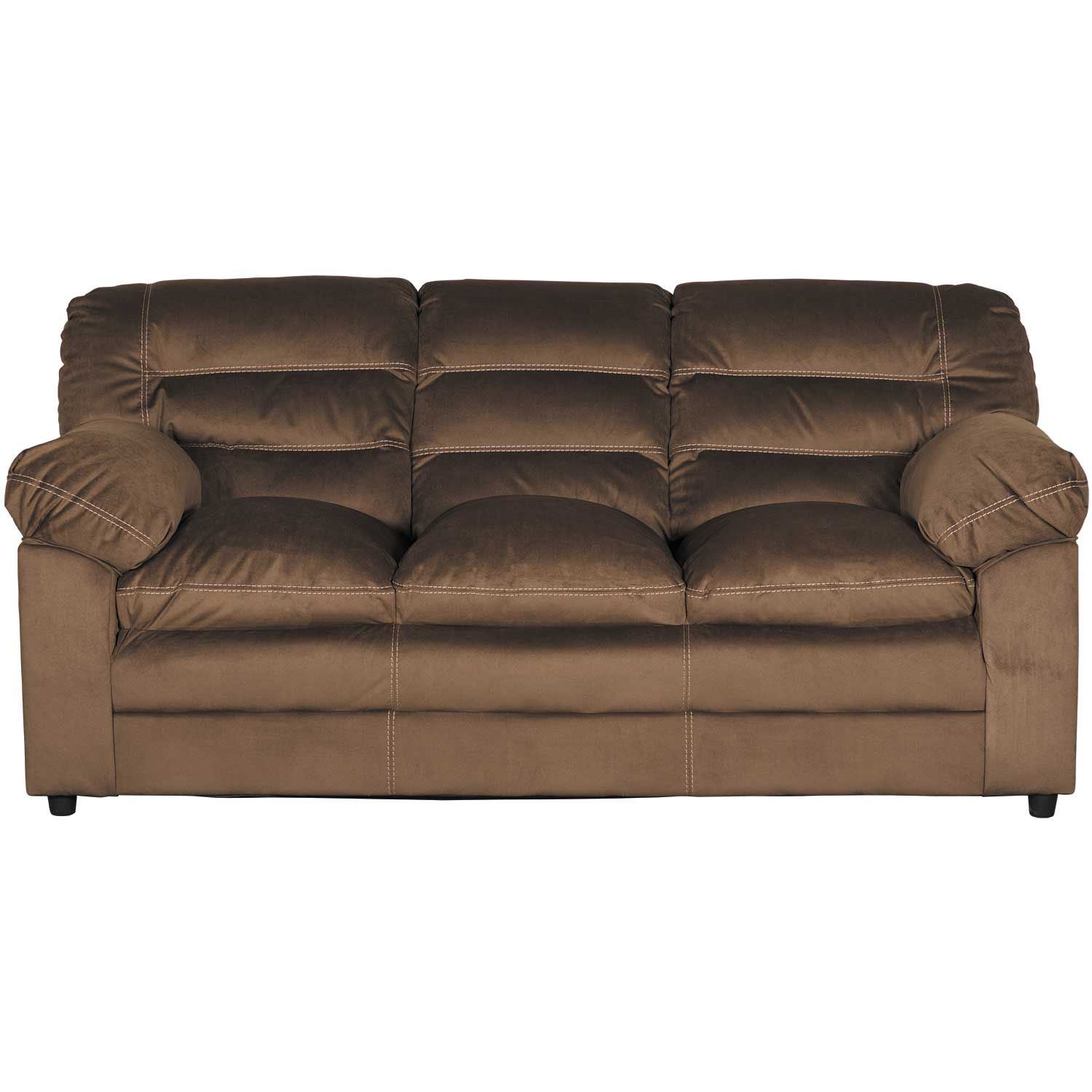 Chocolate Corduroy Sofa Gosnell Chocolate Sofa