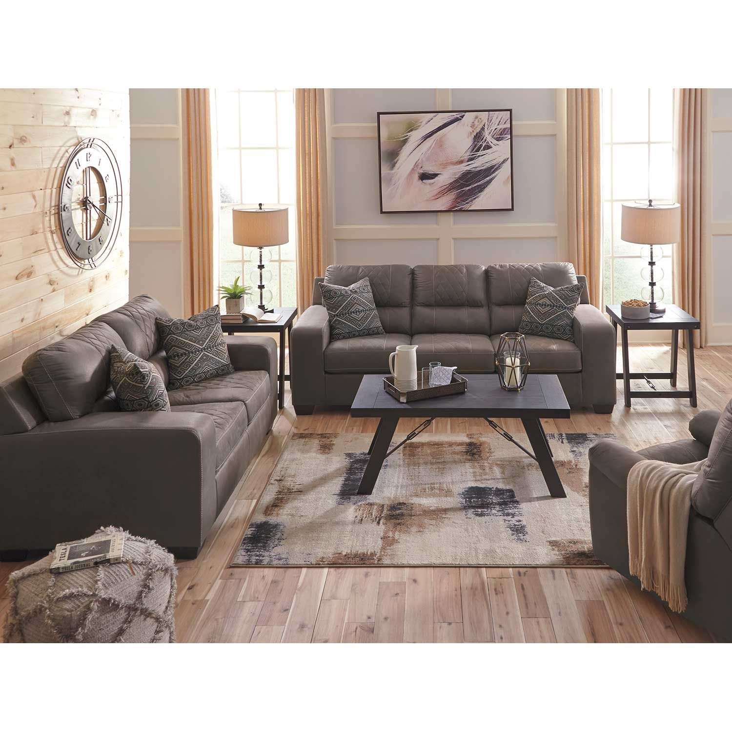 Gray Sofas For Living Room Narzole Gray Sofa