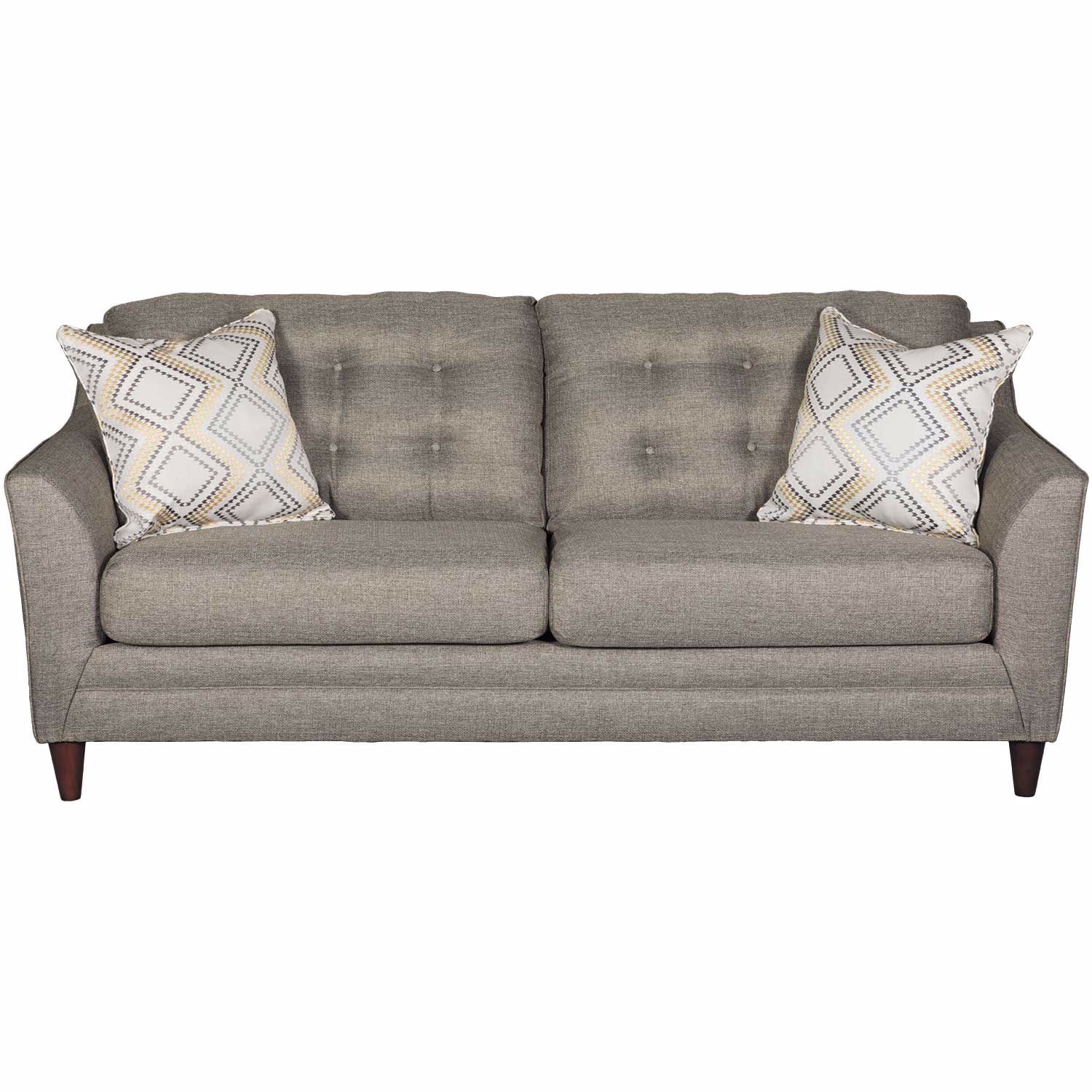 Jensen Sofa Bed Next Jensen Grey Tufted Sofa