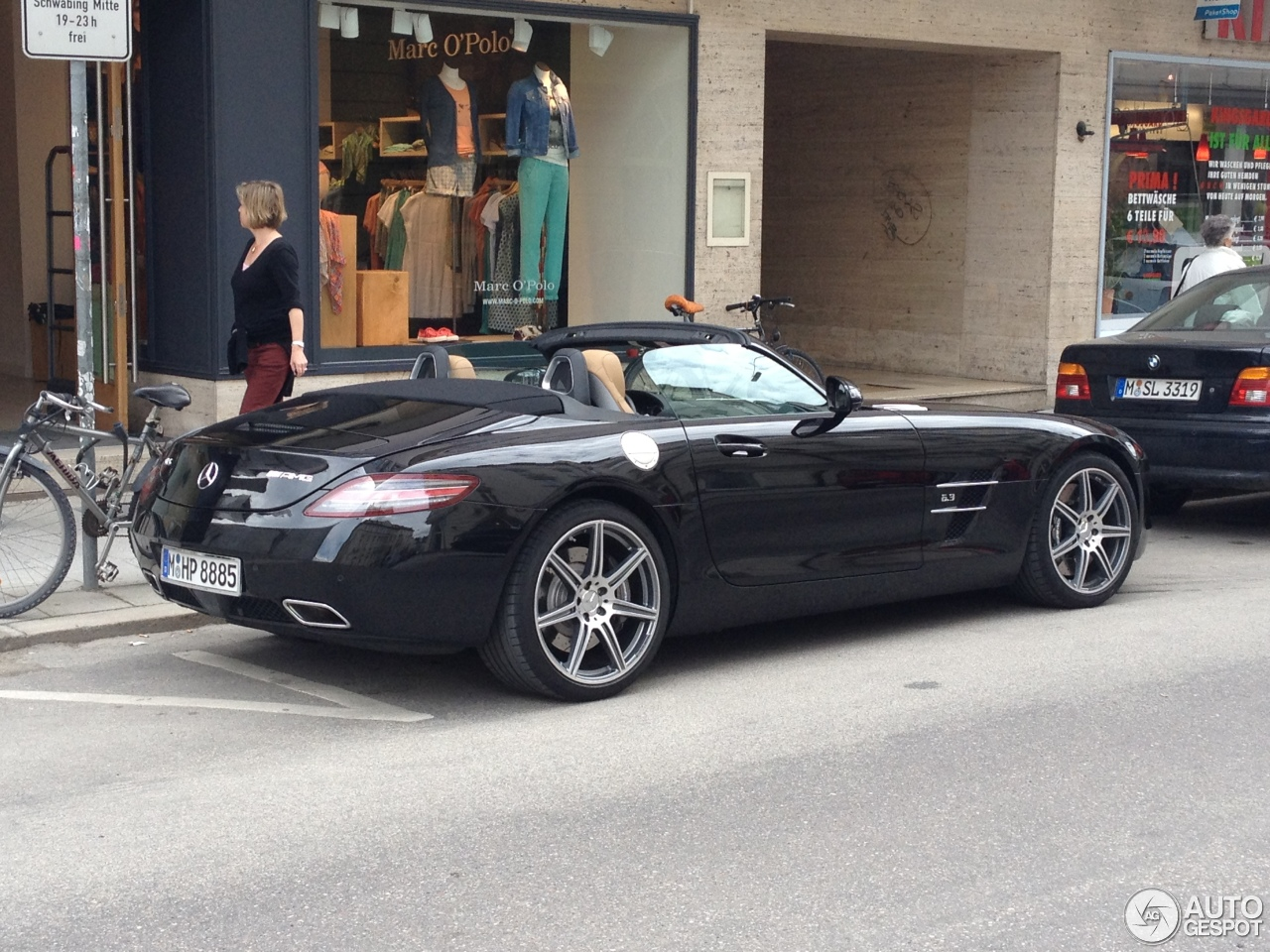 Mercedes Bettwäsche Mercedes Benz Sls Amg Roadster 19 April 2013 Autogespot