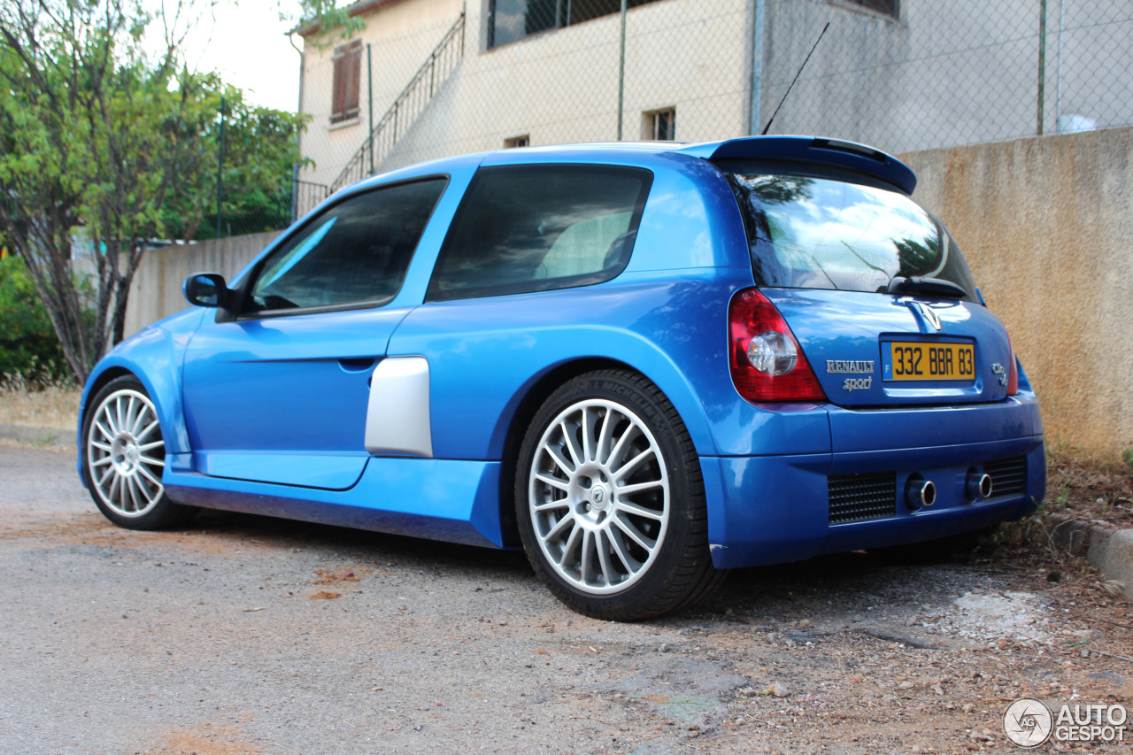 Clio V6 Renault Clio V6 Phase Ii 5 July 2013 Autogespot