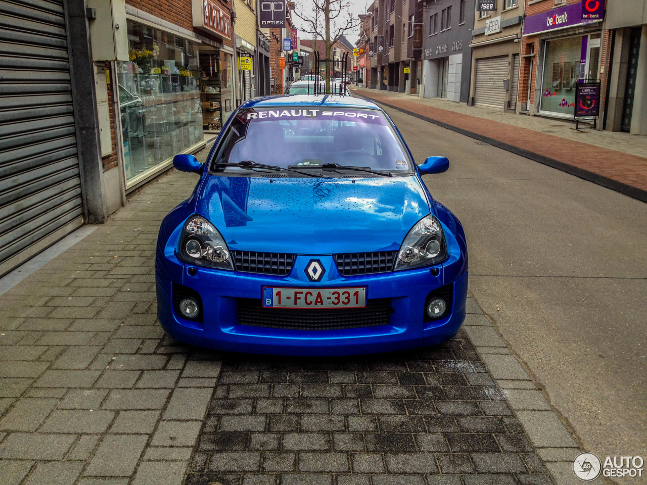 Clio V6 Renault Clio V6 Phase Ii 8 August 2015 Autogespot