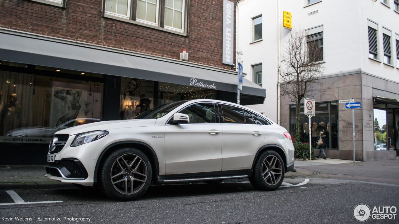 Mercedes Bettwäsche Mercedes Amg Gle 63 S Coupé 19 December 2015 Autogespot