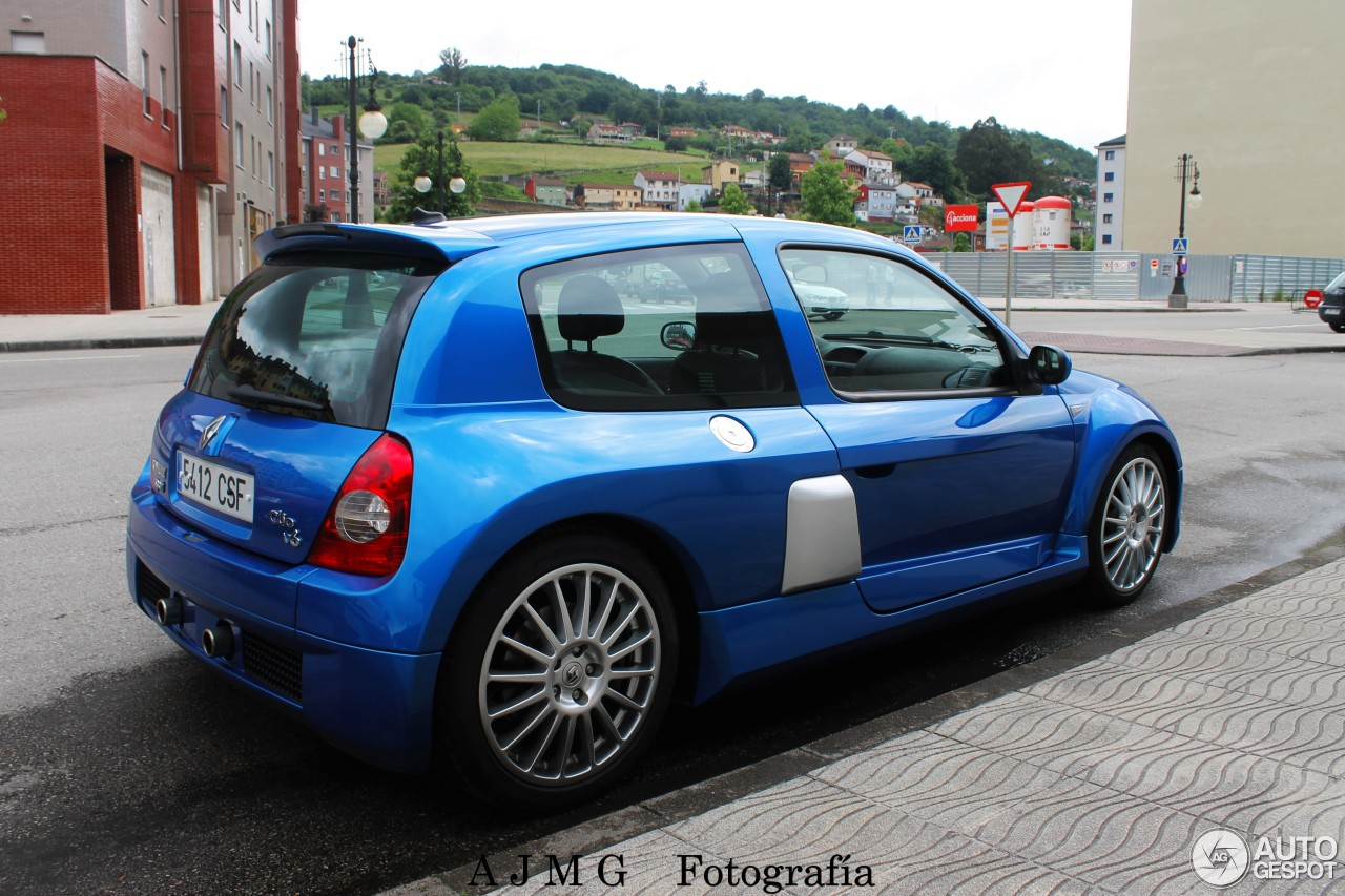 Clio V6 Renault Clio V6 Phase Ii 19 June 2016 Autogespot