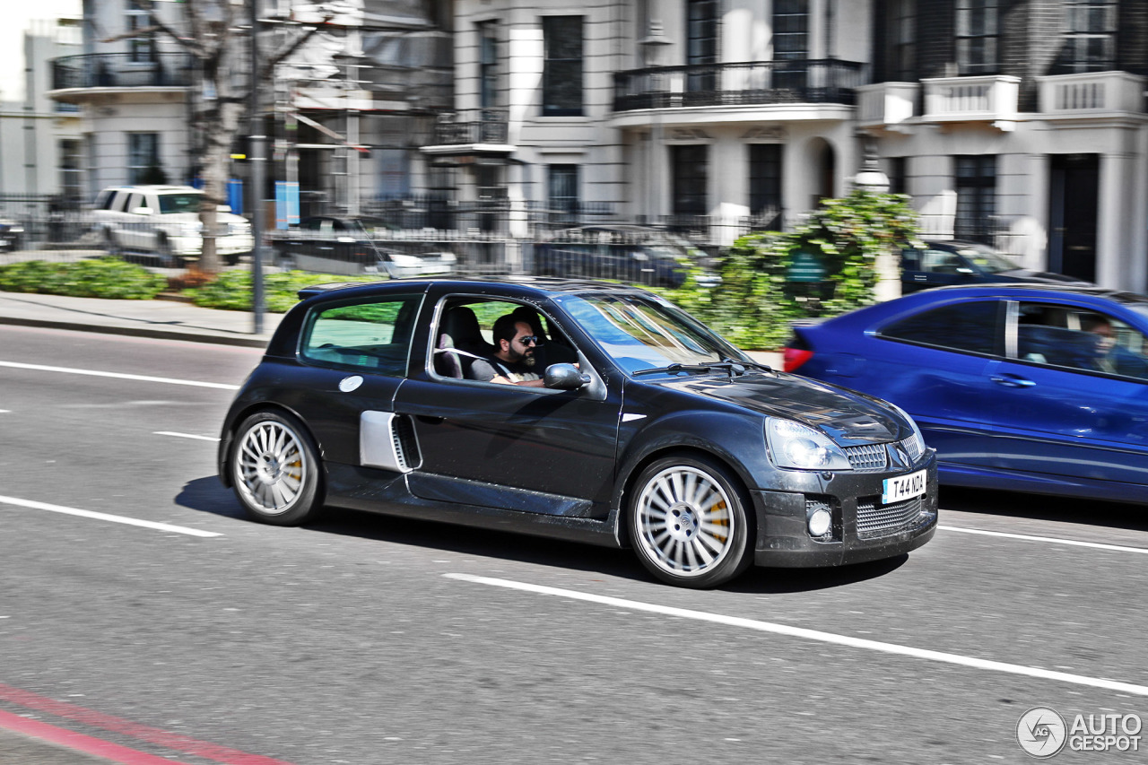 Clio V6 Renault Clio V6 Phase Ii 23 July 2016 Autogespot