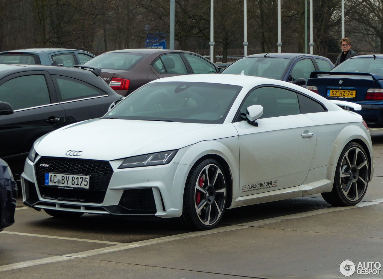 Tt 2017 Audi Tt Rs 2017 18 December 2016 Autogespot