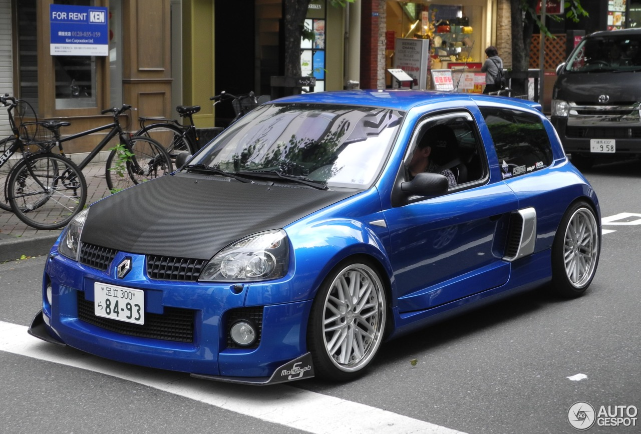 Clio V6 Renault Clio V6 Phase Ii 1 June 2017 Autogespot