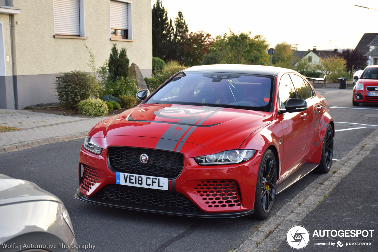 Jaguar Xe Sv Project 8 Jaguar Xe Sv Project 8 16 2019 Autogespot