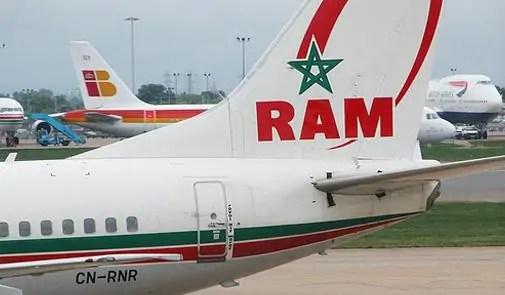 إقلاع مثير لطائرة مغربية بمطار فرانكفورت يتسبب في فزع الركاب ، ولارام توضح