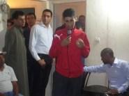 حفل استقبال للمدون حسن الحافة بعد معانقته الحرية