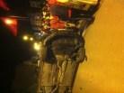 عااجل (+صور): حادثة سير خطيرة بأكادير ناجمة عن انقلاب سيارة خفيفة، و نجاة راكبها من موت محقق
