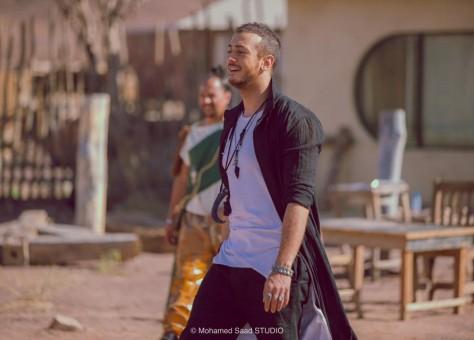 """+فيديو:الفنان سعد لمجرد يطلق كليب """"غلطانة"""" مع حبيبته الإيطالية"""