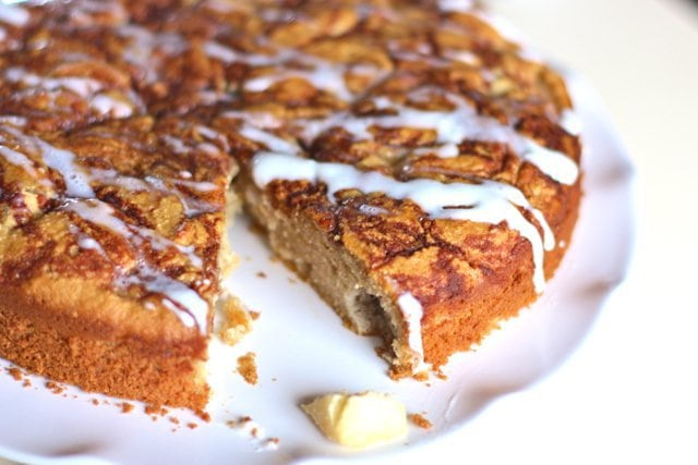 Paleo Fresh Apple Cake