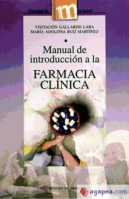Introduccion A La Botanica Libro Manual De Introduccion A La Farmacia Clinica : Agapea