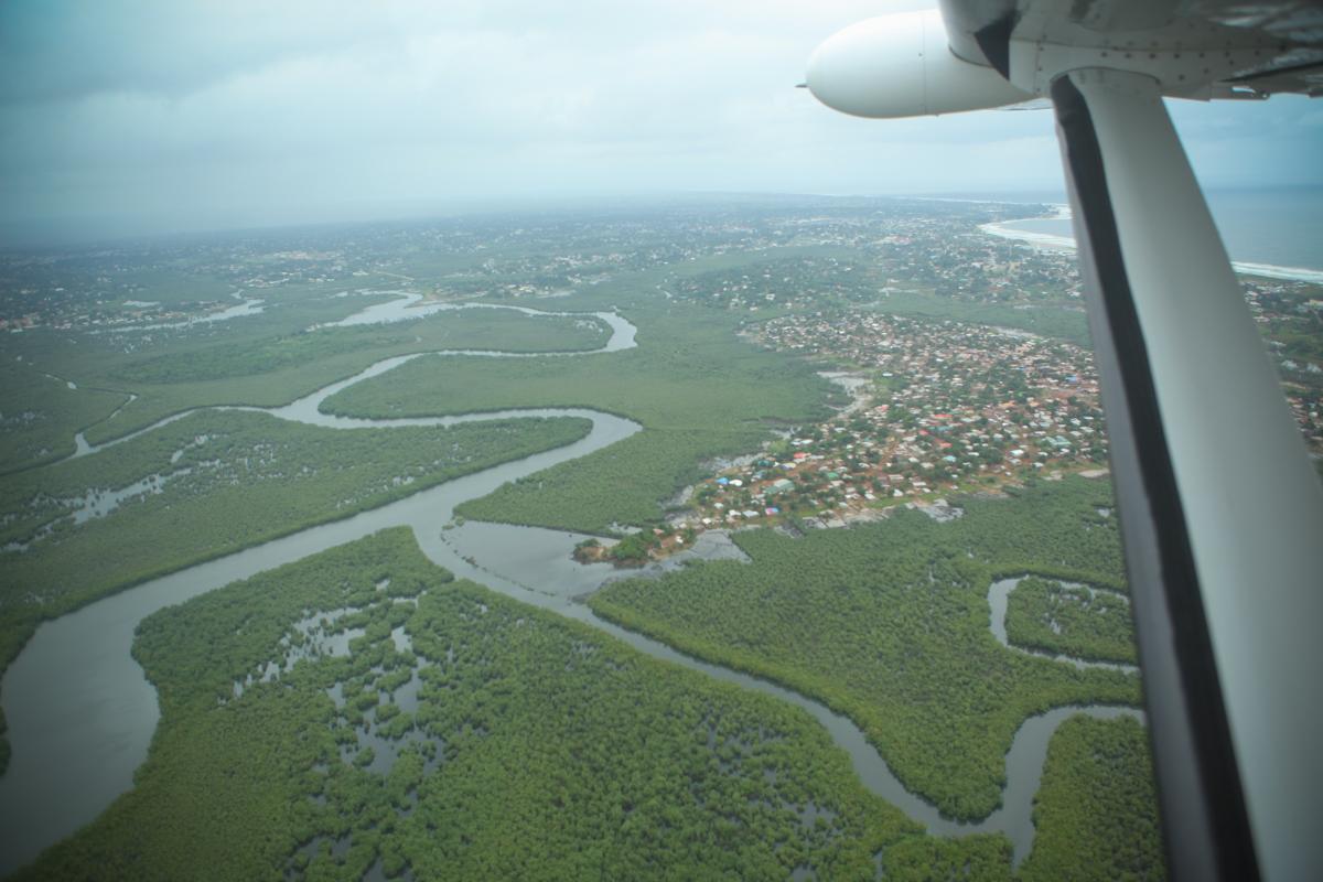 Glass eye missionary landing strip