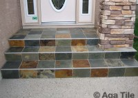 Outdoor Tile Steps