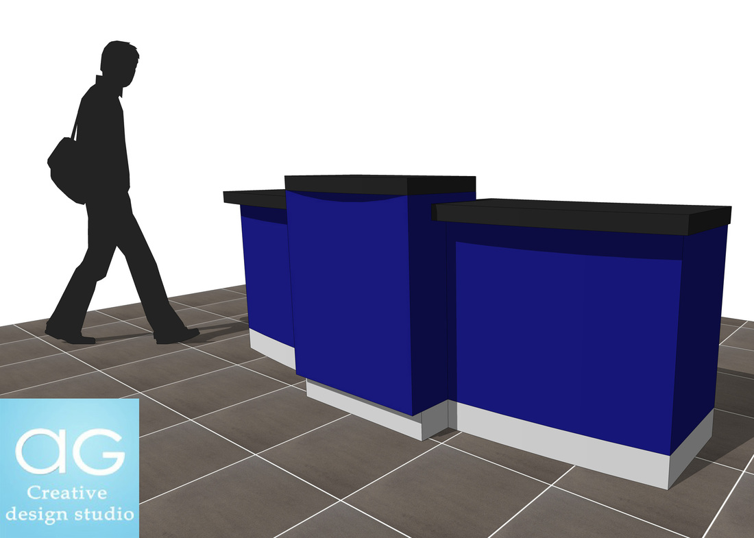 Sale Counter Design Free Sketchup Retail Sales Counter Ag Cad Designs