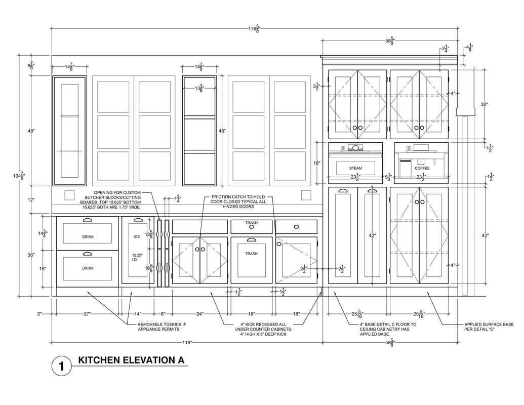 Kitchen Cabinet Elevation Kitchen Elevation Ideas Us Architectural Rendering Services