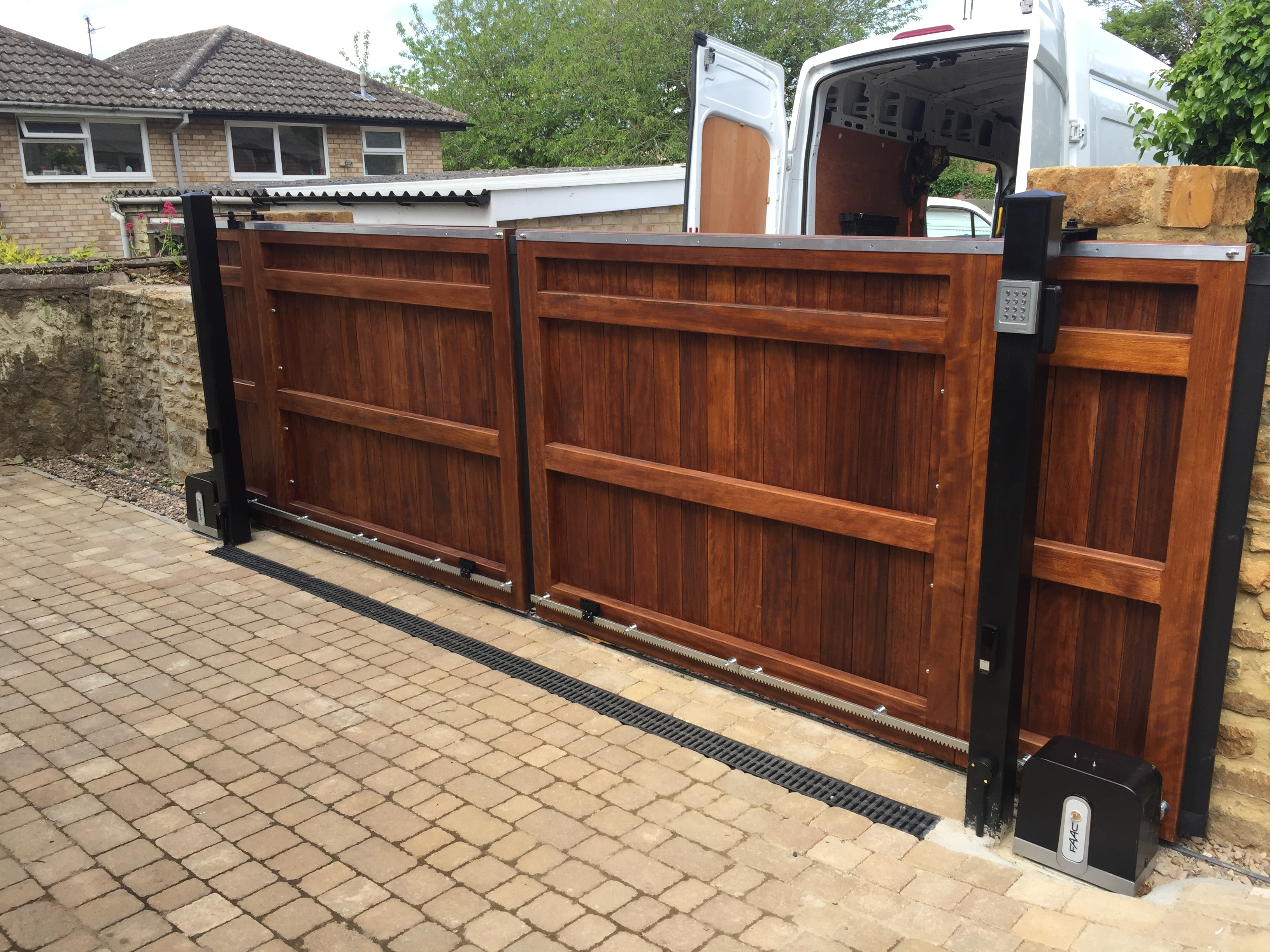Sliding Gate For Garage Sliding Gates Overview Residential Commercial Electric