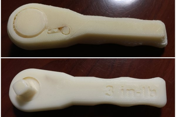 3d printed on a XYZprinting Da Vinci 1.0 3d Printer by Shannon Moore