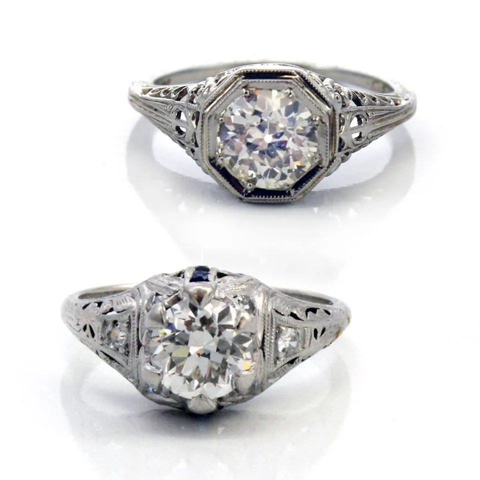 engagament rings from etsy that fit your style ageless