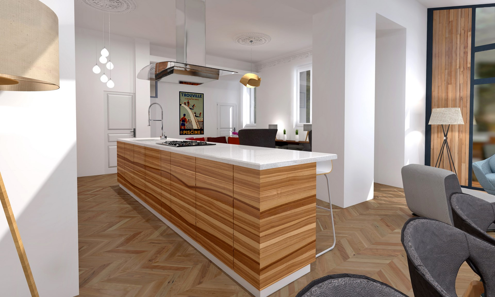 Cuisine Luxe Good Cuisine Americaine Appartement Appartement With