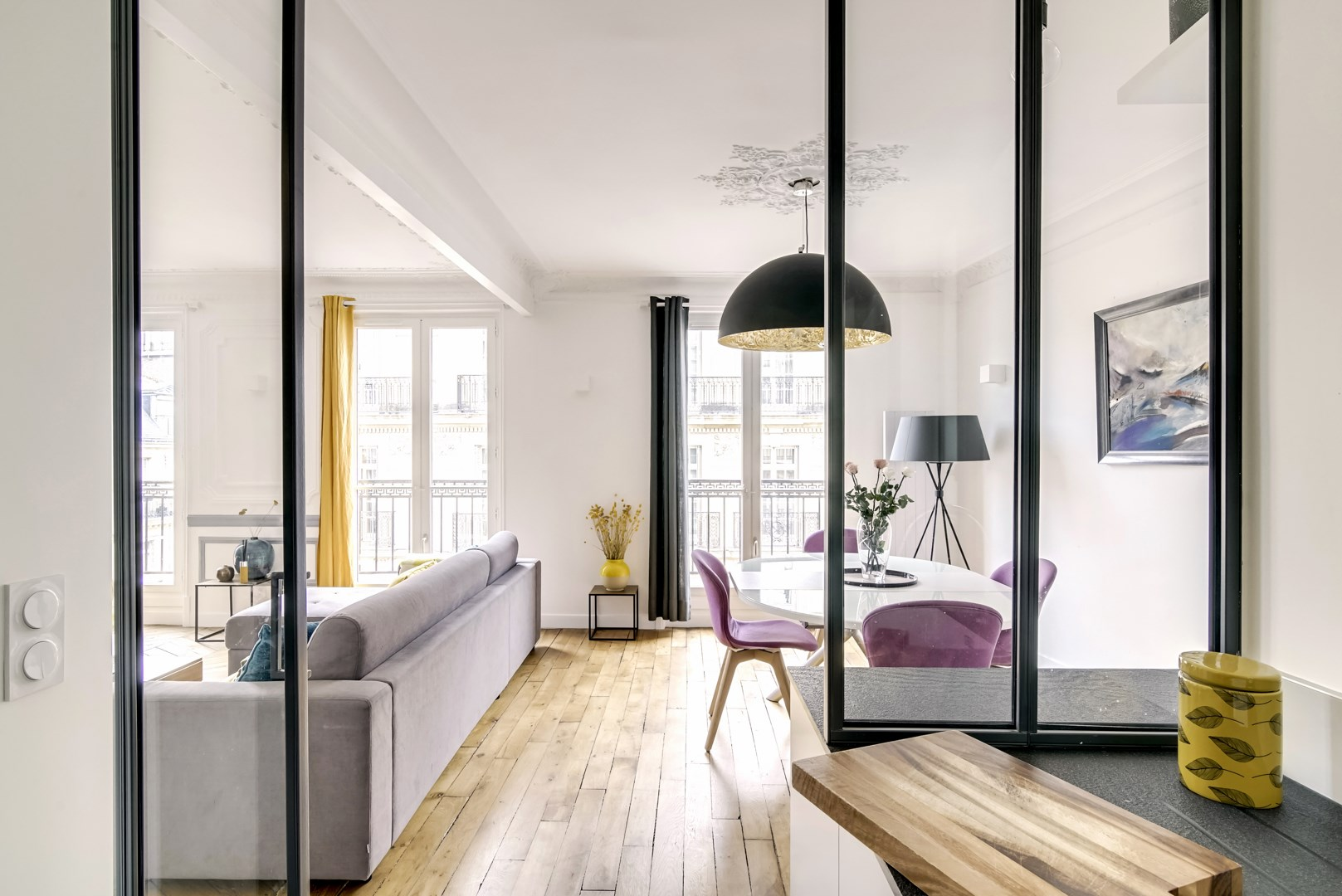 Renovation Haussmannien Rénovation Appartement Paris 8 Chic Chic Chic