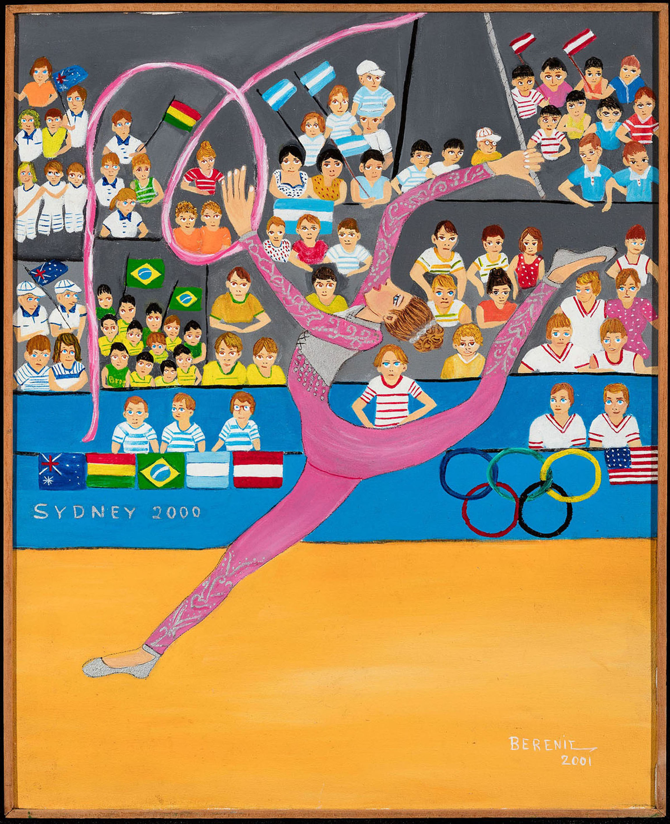 Arte Naif In Brazil Naive Artists Pay Tribute To Rio 2016 Olympic Games