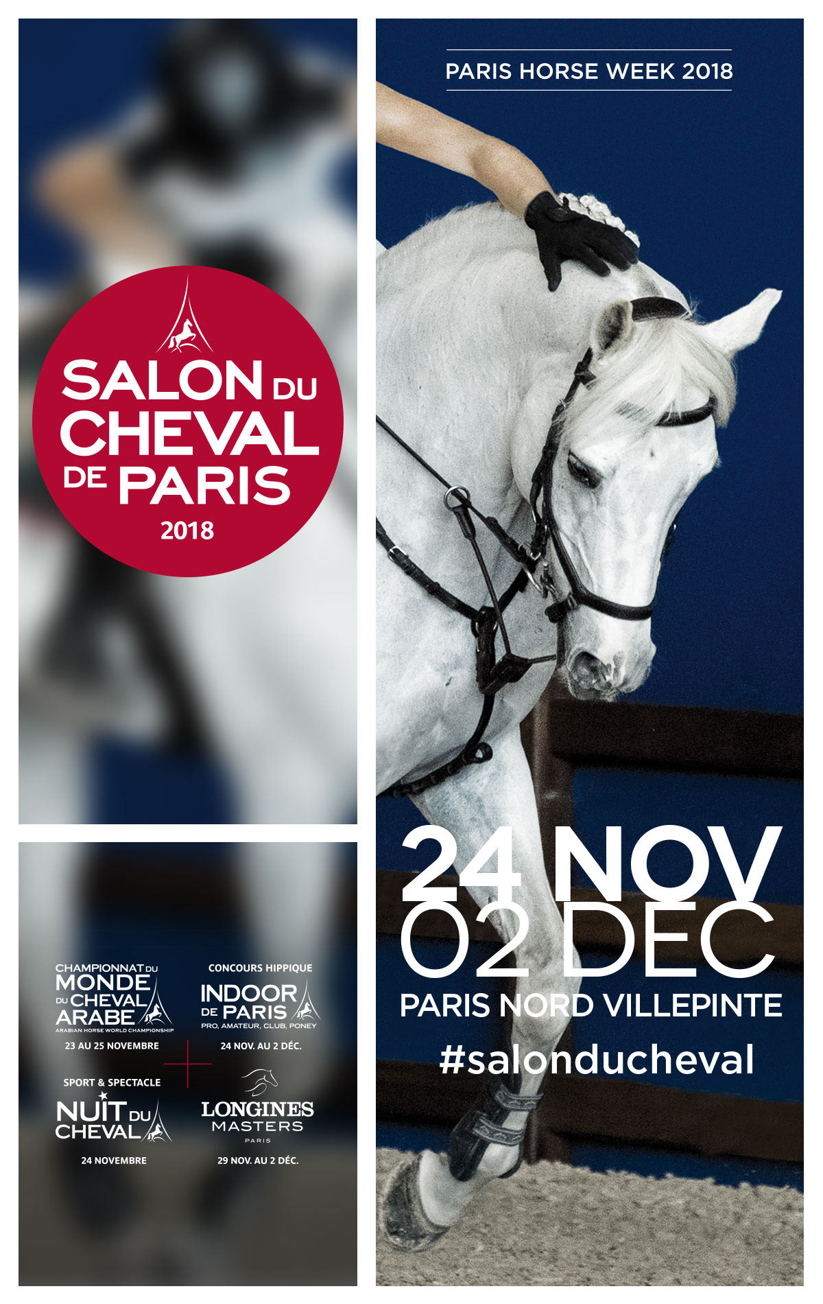 Salon Du Cheval A Paris Salon Du Cheval 2018 De Paris Week End