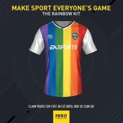 酷新聞:因提供彩虹裝備 俄國恐禁FIFA 17足球電玩